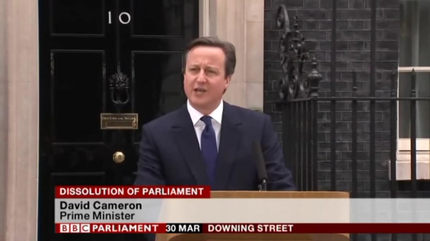 Cameron 2015 Dissolution
